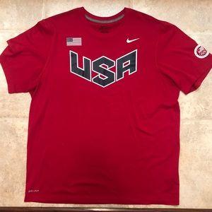 NIKE drift USA Olympic shirt unisex large